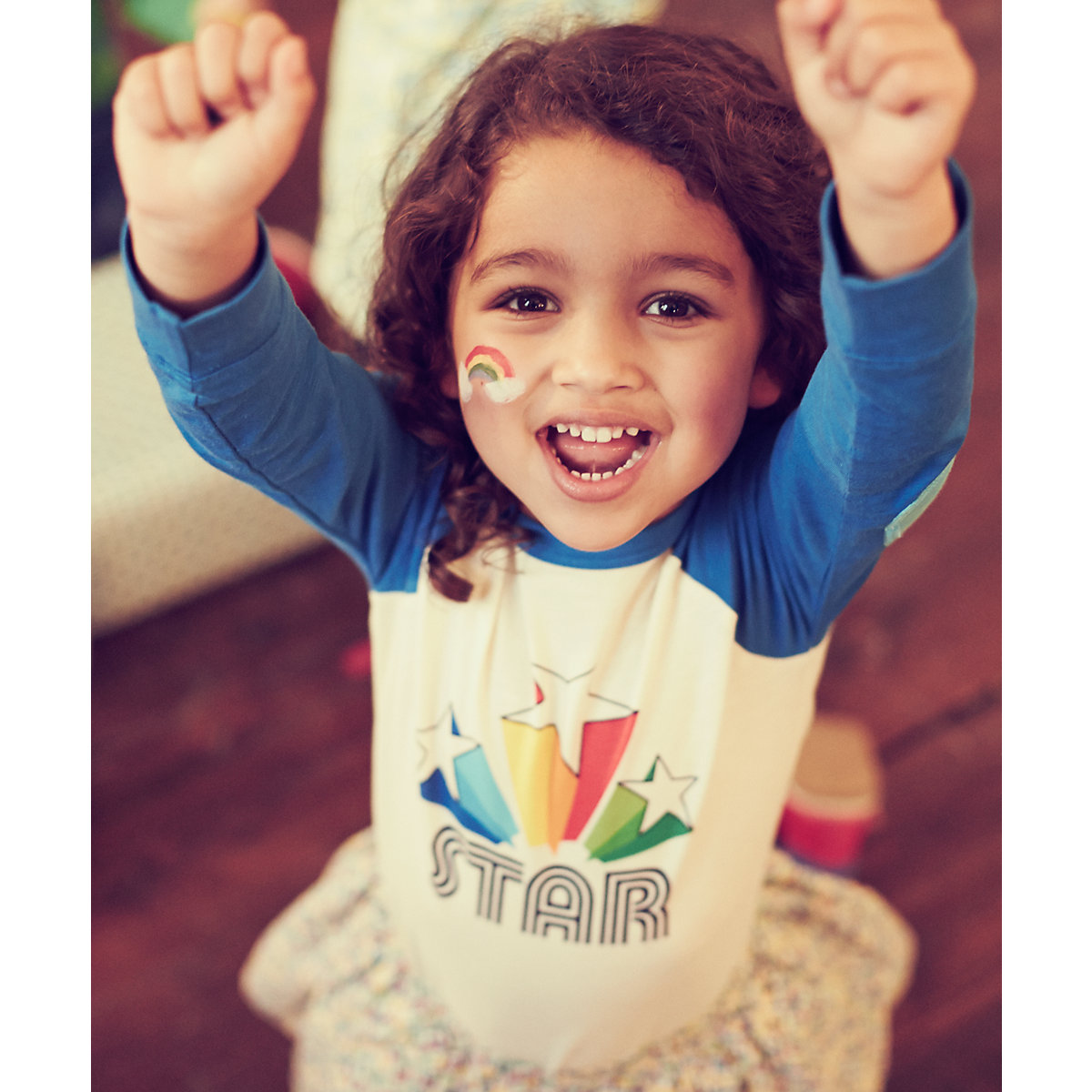 Little Bird by Jools Shooting Star T-Shirt - Shooting Gifts