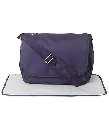 Mothercare Messenger Changing Bag - Navy