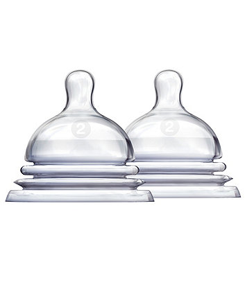 Munchkin Latch Stage 2  Teats - 2 Pack