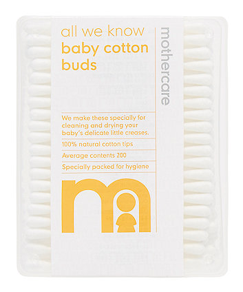 Mothercare Cotton Buds - 200 Pack