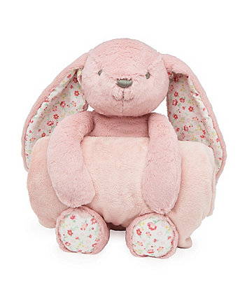 Mothercare Bunny Plush Toy and Blanket