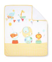 Mothercare Roll Up Cot Bed Coverlet