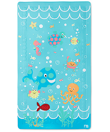 Mothercare Under the Sea Non Slip Bath Mat - Blue