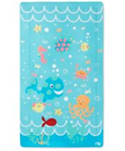 Mothercare Under the Sea Non Slip Bath Mat - Blue