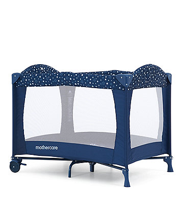 Mothercare Classic Travel Cot - Love You To The Moon And Back