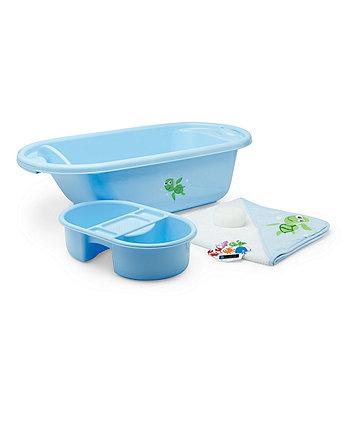 Mothercare Bath Set - Blue