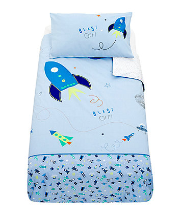 Mothercare Space Dreamer Duvet Set - Blue