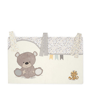 Mothercare Teddy'S Toy Box Cot Pockets