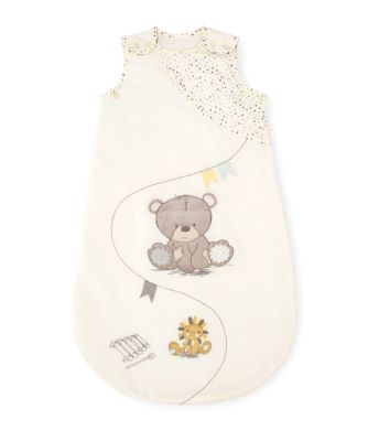 Mothercare Teddy's Toy Box Snoozie Sleeping Bag 1 Tog - 0-6months