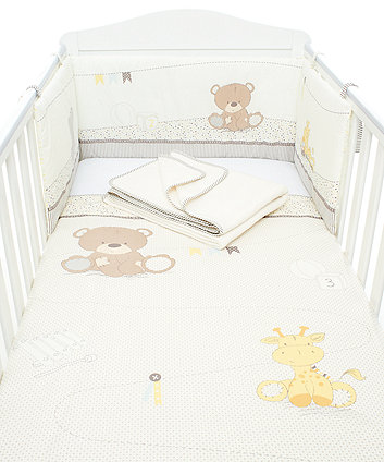 Mothercare Teddy'S Toy Box Bedding Set