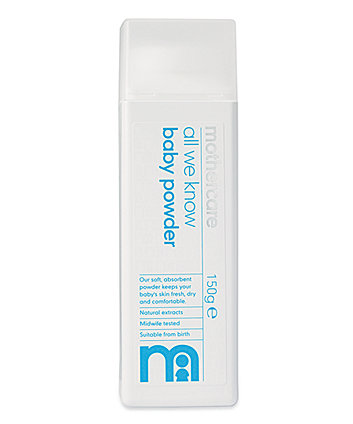 Mothercare All We Know Baby Talc - 150ml