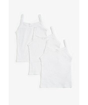 White Vests - 3 Pack