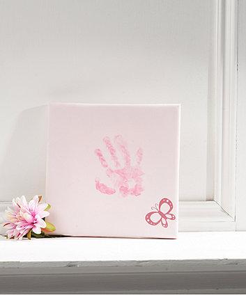 Mothercare Pink Canvas Impression Print Kit