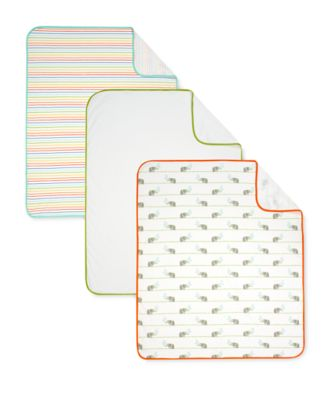 Mothercare Hello Friends Jersey Blankets - 3pk