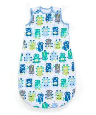 Mothercare Robots Snoozie Sleeping Bag 1 Tog - 6-18months