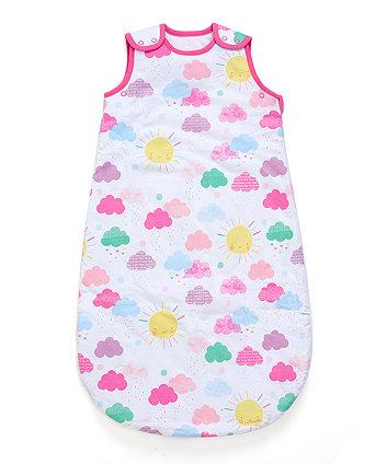 Mothercare Sunshine Snoozie Sleep Bag 0-6 Months - 1.0 Tog
