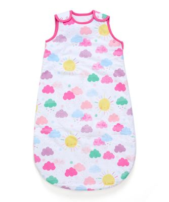 Mothercare Sunshine Snoozie Sleeping Bag 1 Tog - 6-18months