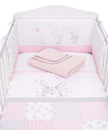 Mothercare My First Bed In Bag - Pink Bunny