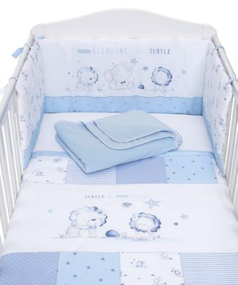 Mothercare My First Bed in a Bag - Blue Elephant