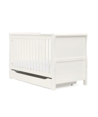 Mothercare Sleigh Cot Bed - White
