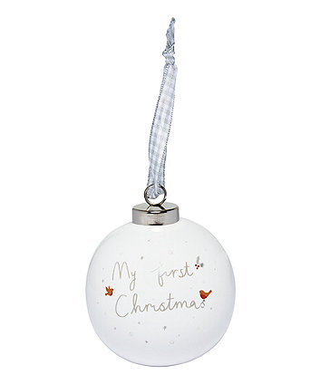 Mothercare My First Christmas Bauble