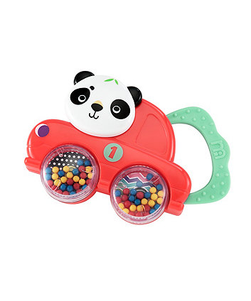 Baby Voyage Teethe And Spin Car Rattle