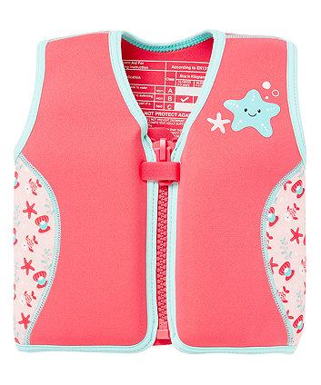 Mothercare Pink Swim Jacket 4-5 Years