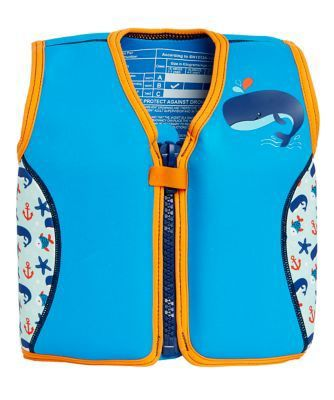 Mothercare Swim Jacket - Blue 2-3 Years