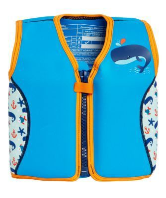 Mothercare Swim Jacket - Blue 4-5 Years