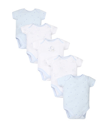 My First Little Lion Bodysuits - 5 Pack