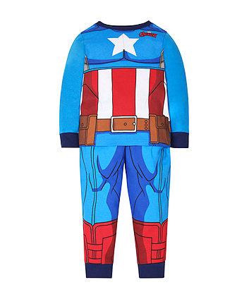 Mothercare Captain America Dress Up Pyjamas