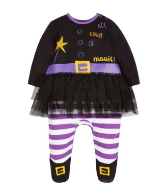 Mothercare Dress Up Witch Halloween All In One With Tutu