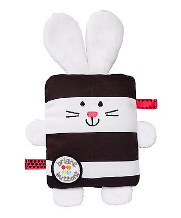Mothercare Bright Buttons Bunny Soft Toy