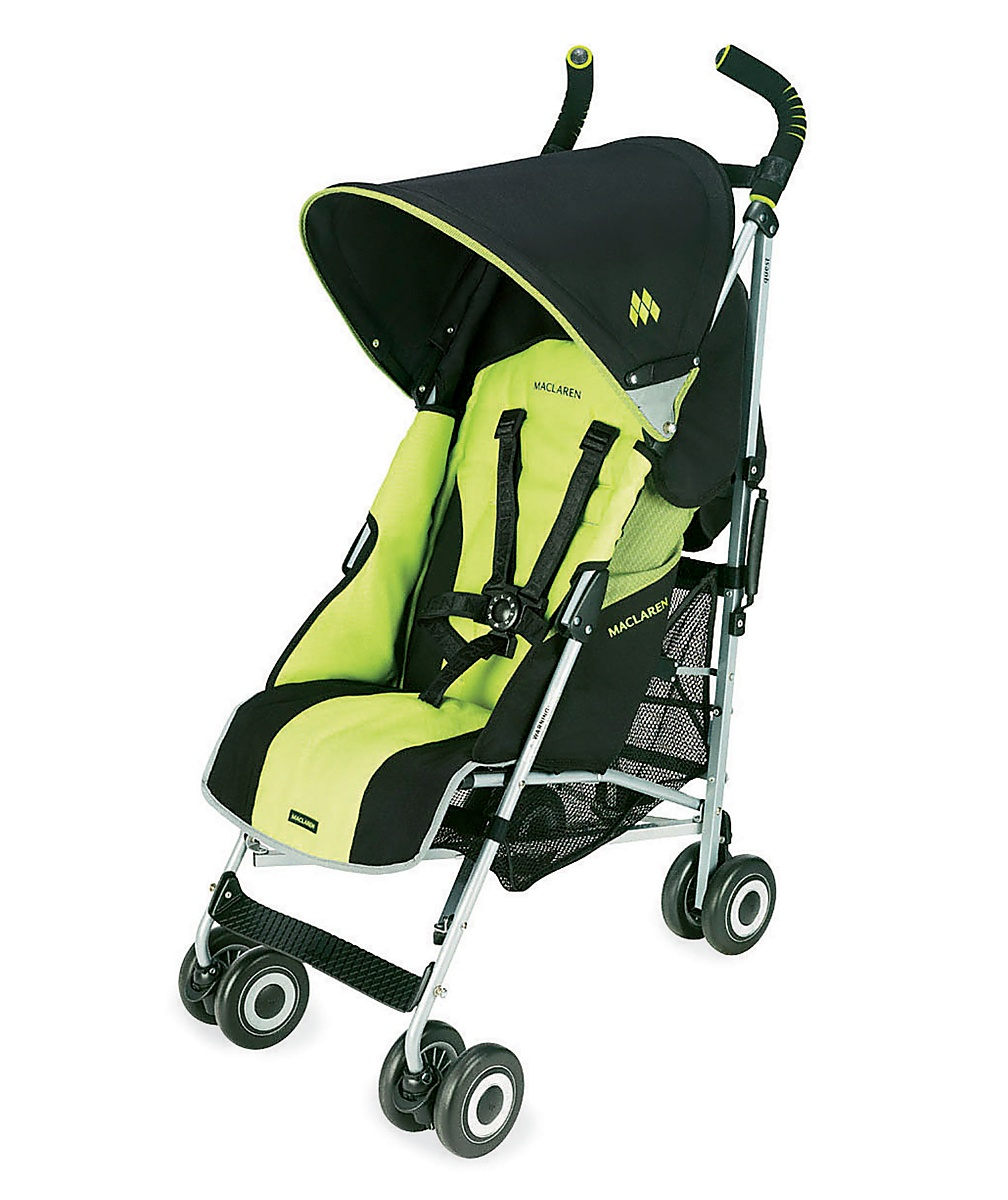 Maclaren Quest Sport Stroller  BlackKiwi Lime