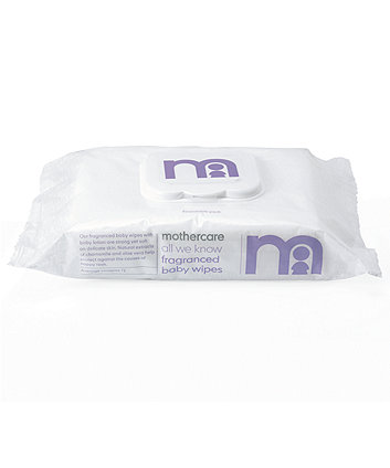 Mothercare All We Know Fragrance Baby Wipes - White 72 Wipes