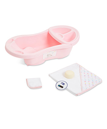 Mothercare Confetti Party Bath Set - Pink