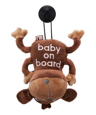 Mothercare Baby On Board Sign - Monkey