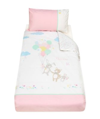Mothercare Confetti Party Cot Bed Duvet Cover and Pillowcase