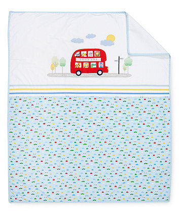 Mothercare On The Road Coverlet