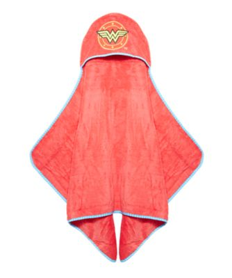 Mothercare Wonder Woman Toddler Towel - Red