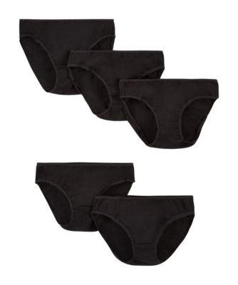 Mothercare Maternity Black Mini Briefs - 5 Pack