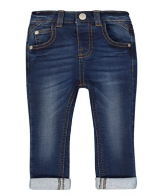 Mothercare Dark Wash Skinny Unlined Denim Jeans