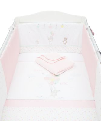 Mothercare Confetti Party Bed in a Bag with Long Bumper