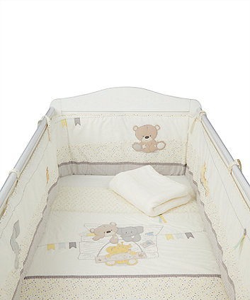 Mothercare Teddys Toy Box Bed In Bag