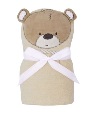 Mothercare Teddys Toy Box Swaddle Wrap - Beige
