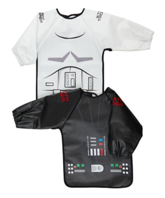 Mothercare Star Wars Coverall Bibs - 2 Pack