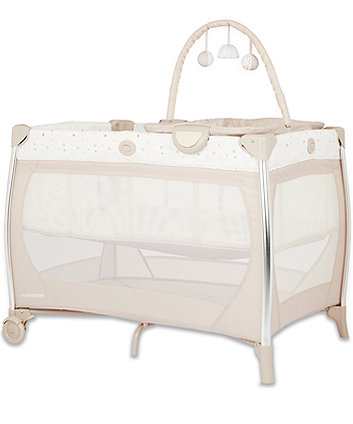 Mothercare Bassinet Travel Cot With Changer And Sounds Unit - Teddys Toy Box