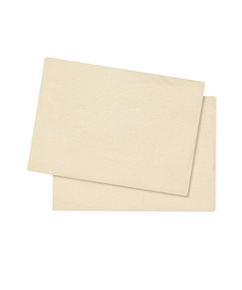 Mothercare Cotton-Rich Fitted Cot Bed Sheets (2 Pack) - Cream
