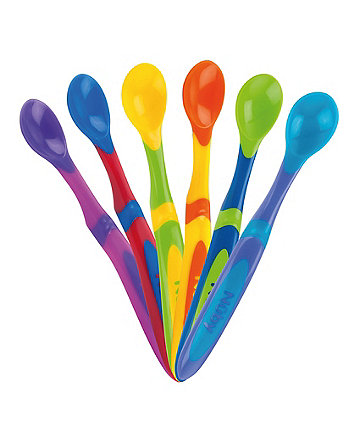 Nuby Muncheez Weaning Spoons - 6 Pack