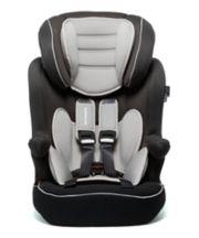 Mothercare Advance Xp Highback Booster Car Seat - 3 Tone Black